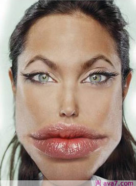 Funny Celebrity Photo on Celebrity 3 Angelina Jolie Jpg