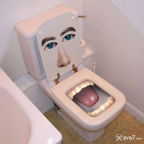 mouth toilet