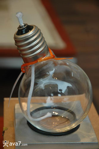 oil lamp. Oil lamp light bulb