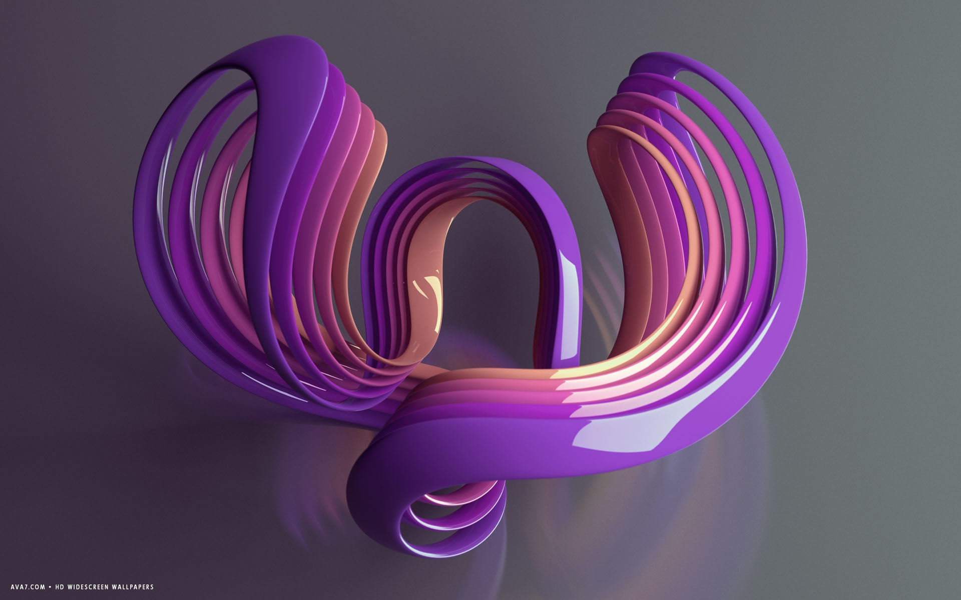 Shape And Form In Design : D violet design shape rings form hd widescreen wallpaper