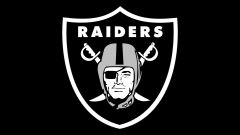 oakland raiders black wallpaper
