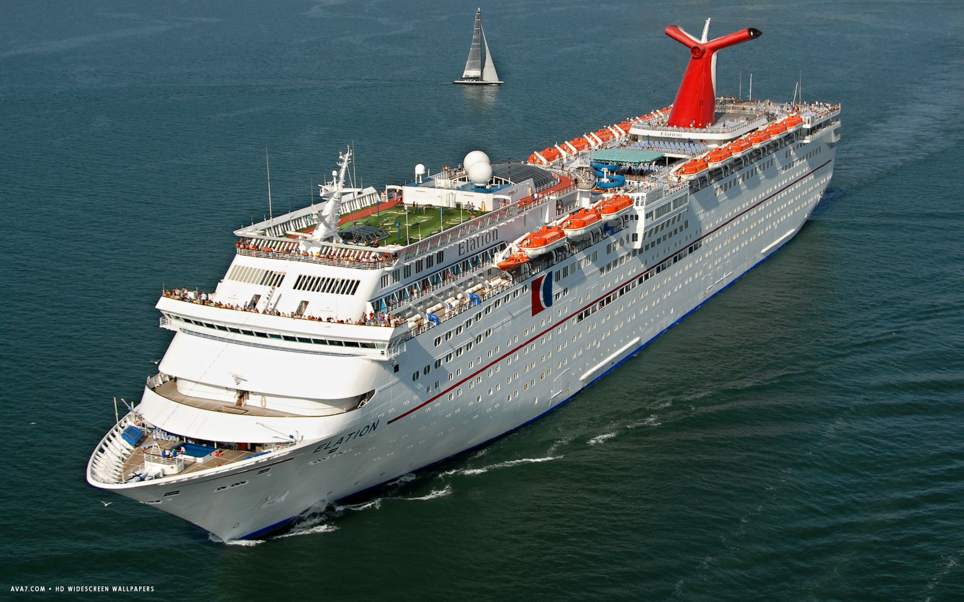 carnival elation cruise ship hd widescreen wallpaper
