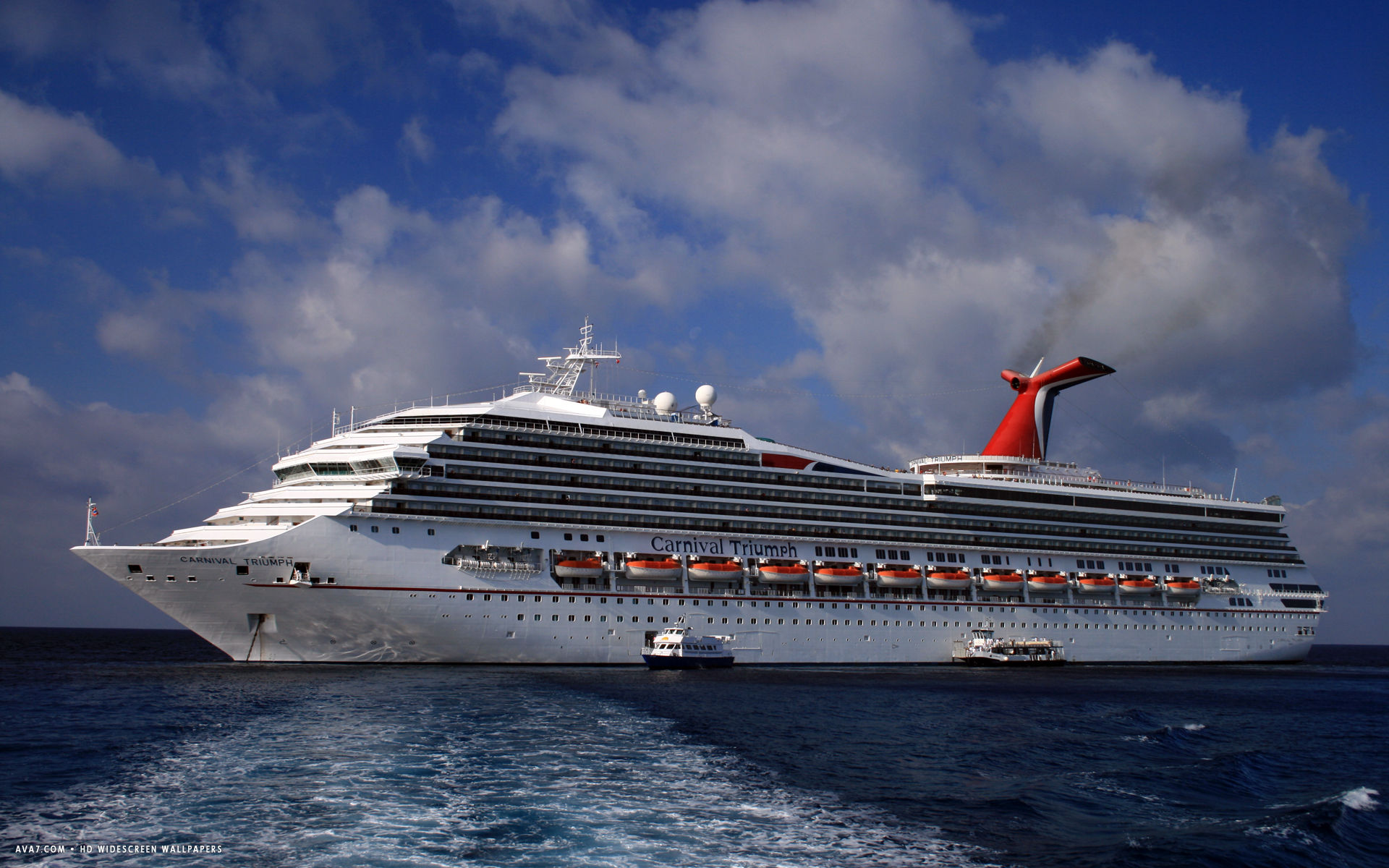 carnival triumph cruise ship hd widescreen wallpaper