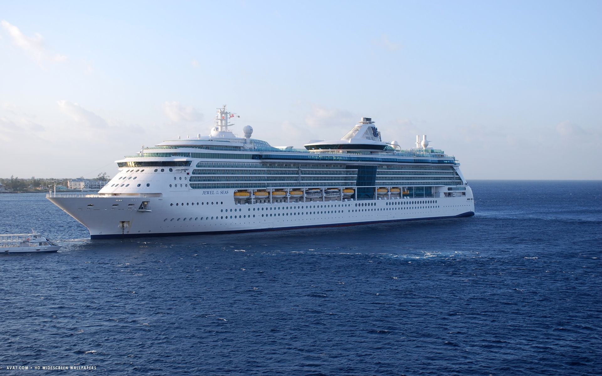 jewel of the seas cruise ship hd widescreen wallpaper