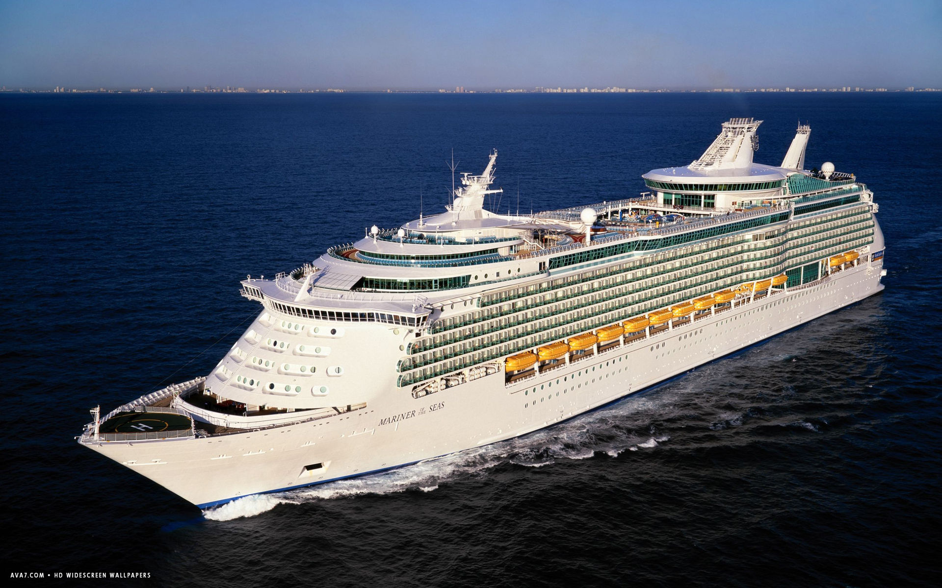 Mariner Of The Seas Cruise Ship Hd Widescreen Wallpaper
