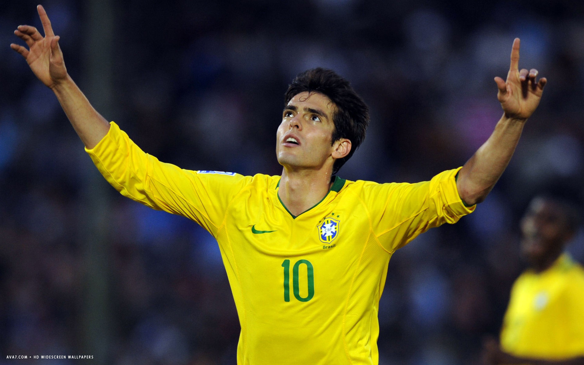 kaka football player hd widescreen wallpaper