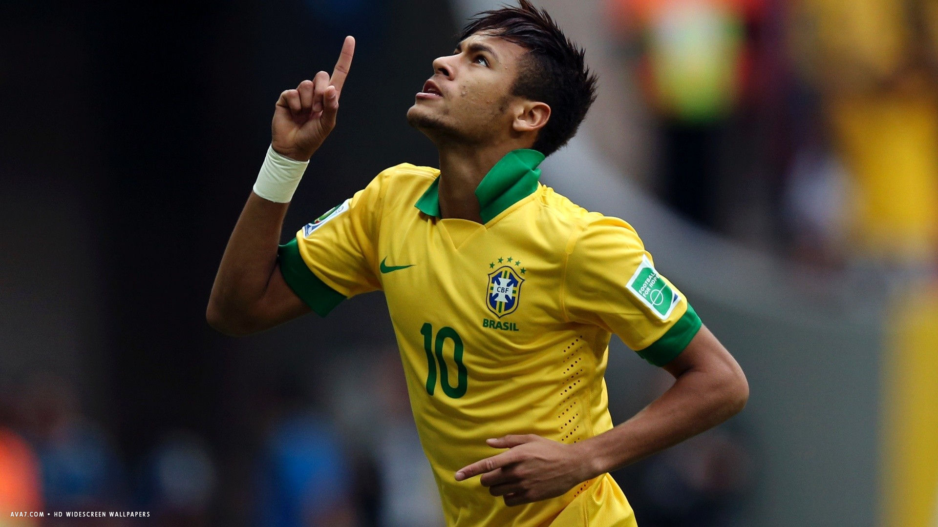 neymar football player hd widescreen wallpaper