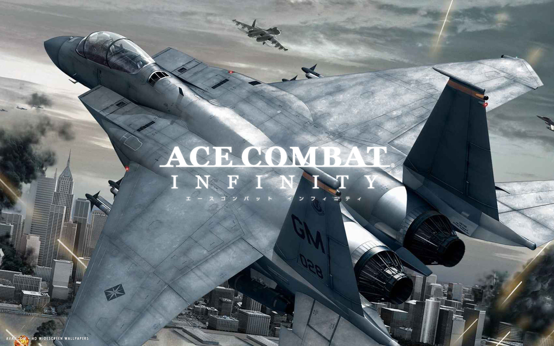 ace combat infinity game hd widescreen wallpaper