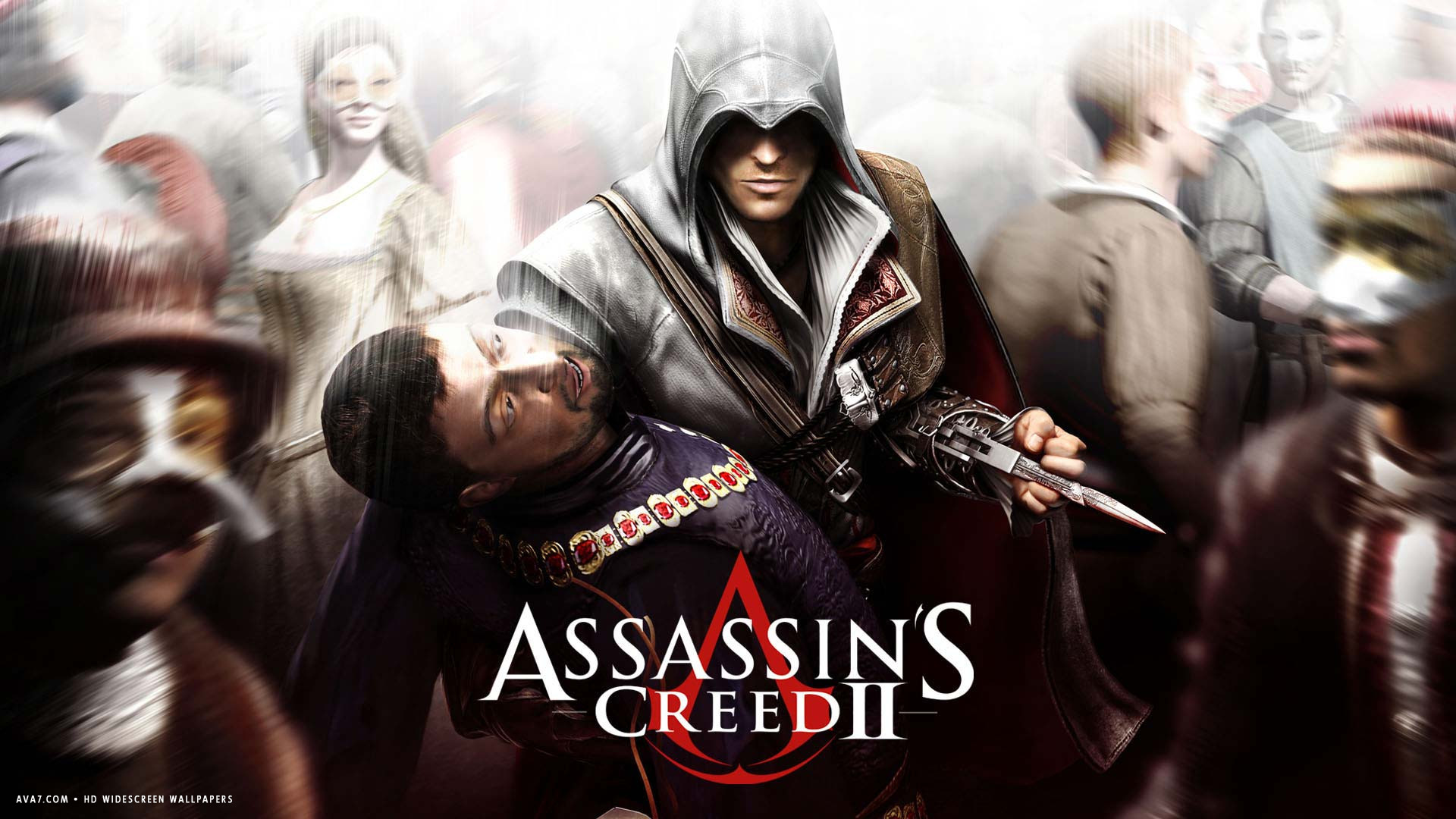 assassins creed 2 game epic historical action adventure stealth hd widescreen wallpaper