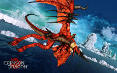 crimson dragon wallpapers