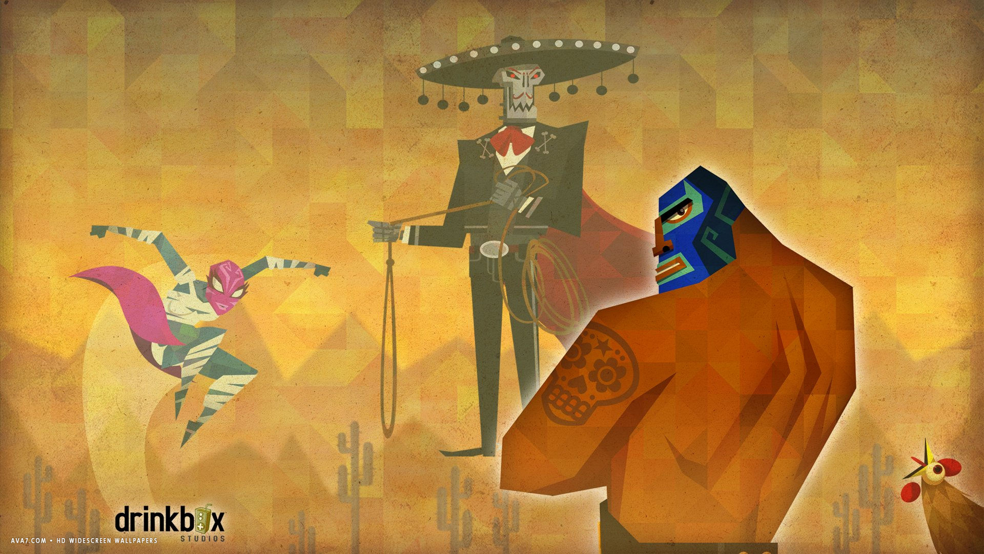 guacamelee game hd widescreen wallpaper