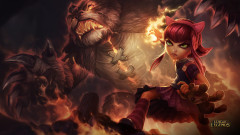 league of legends game lol annie girl monster