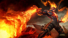 league of legends game lol brand fire flames magic