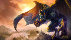 league of legends game lol galio monster city