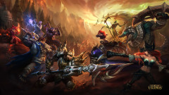 league of legends game lol jarvan iv versus nocturne battle