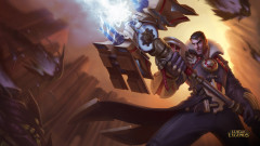 league of legends game lol jayce weapon magic
