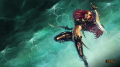 league of legends game lol katarina girl