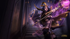 league of legends game lol leblanc magic ghost