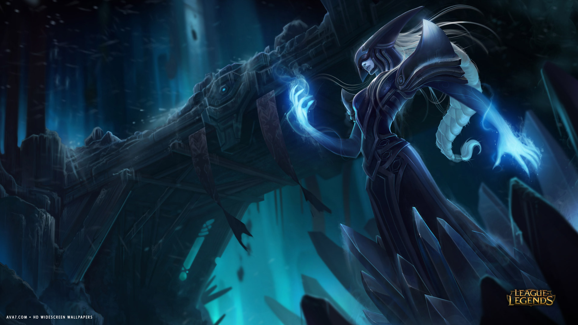 league of legends game lol lissandra hd widescreen wallpaper