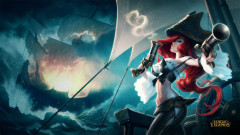 league of legends game lol miss fortune pirate guns