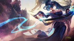 league of legends game lol sona girl music