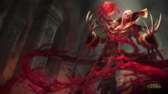 league of legends game lol vladimir evil blood red