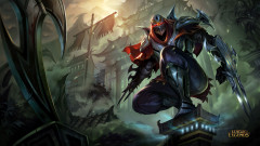 league of legends game lol zed warrior