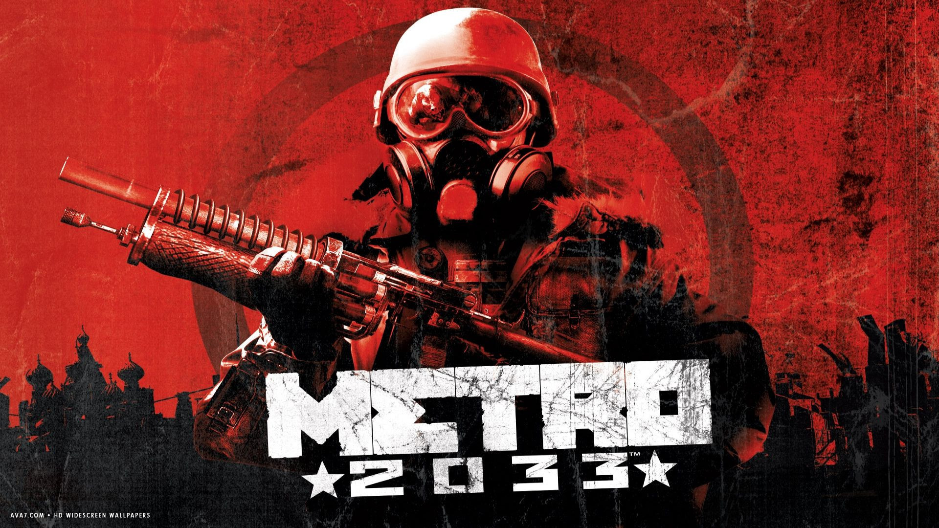 metro 2033 game hd widescreen wallpaper