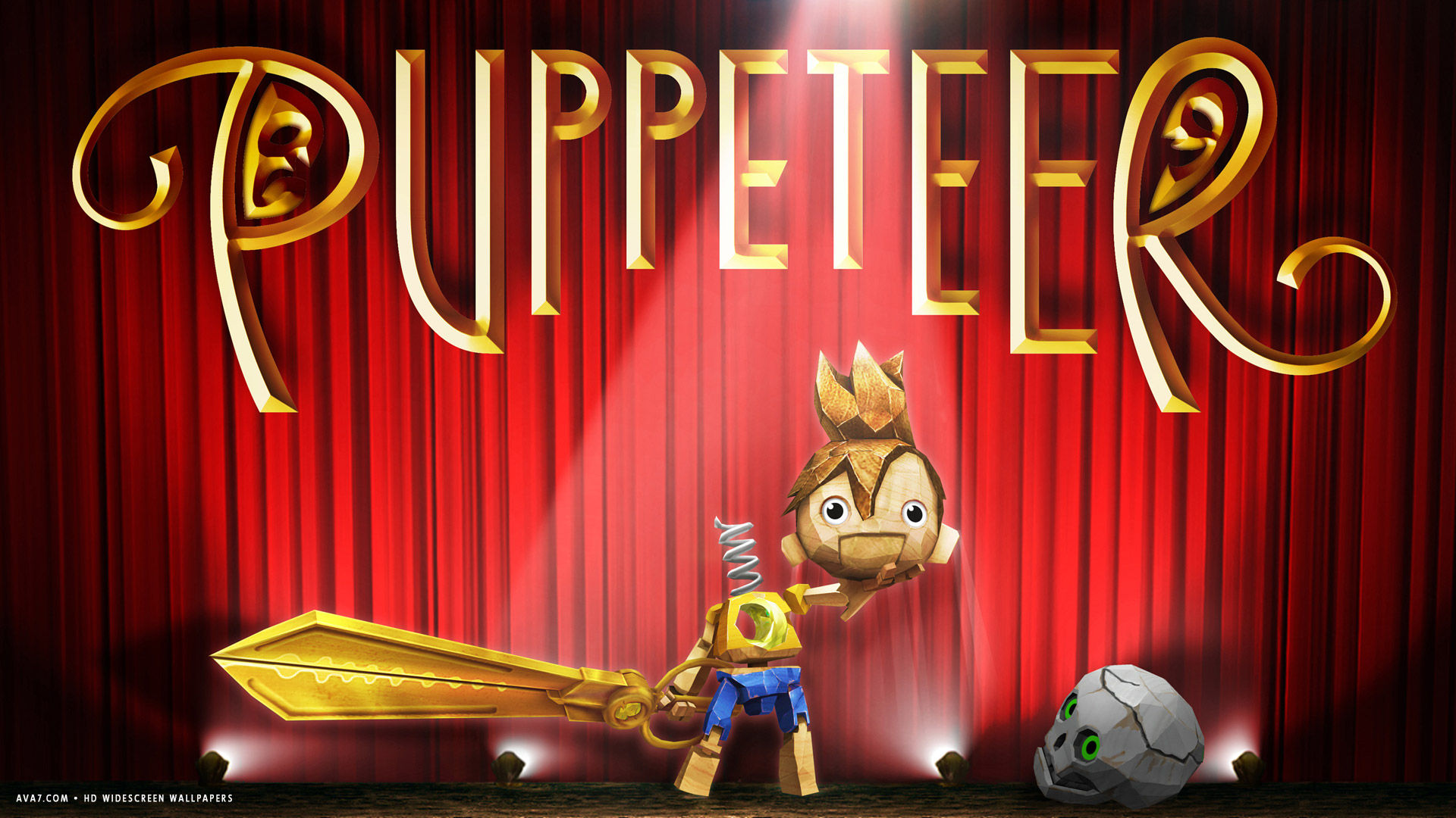 puppeteer game hd widescreen wallpaper
