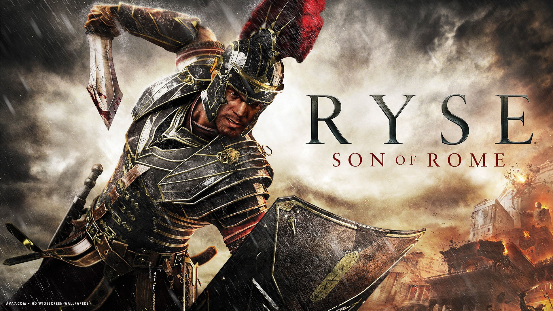 ryse son of rome game hd widescreen wallpaper
