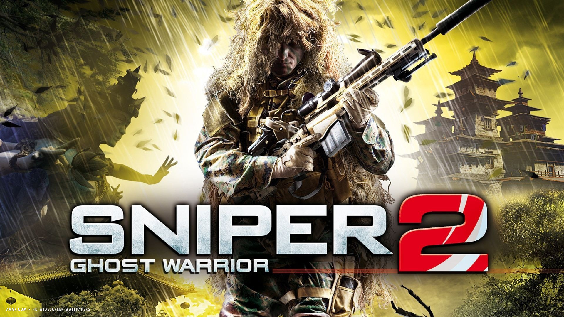 sniper ghost warrior 2 game hd widescreen wallpaper / games backgrounds