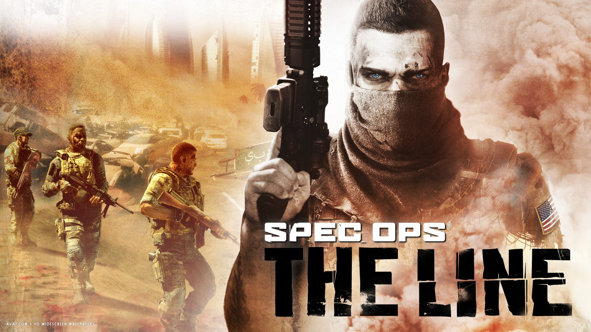 spec ops the line game hd widescreen wallpaper