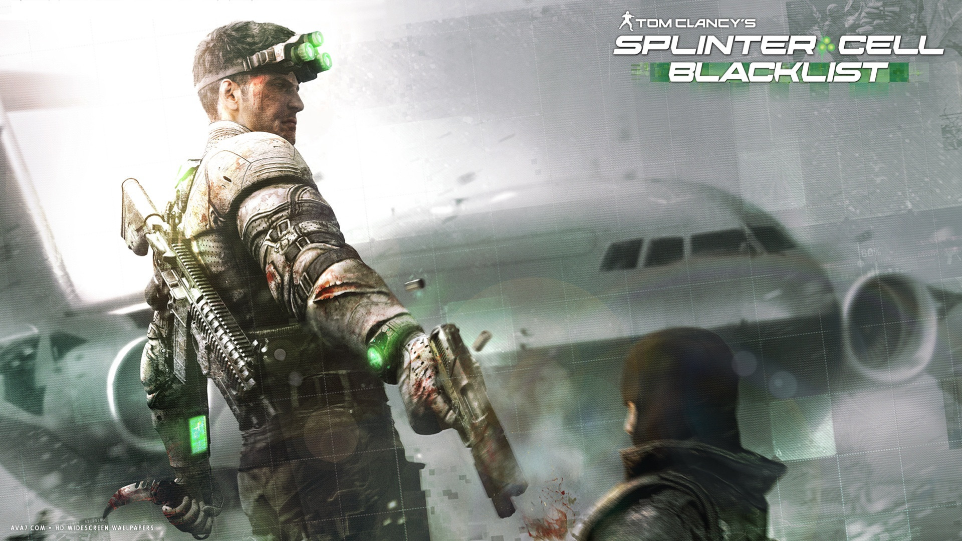splinter cell blacklist game hd widescreen wallpaper