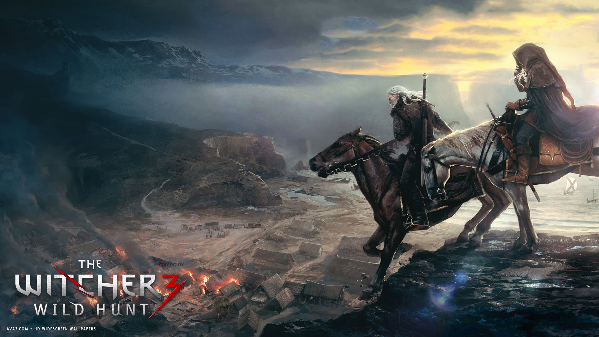 witcher 3 wild hunt game hd widescreen wallpaper