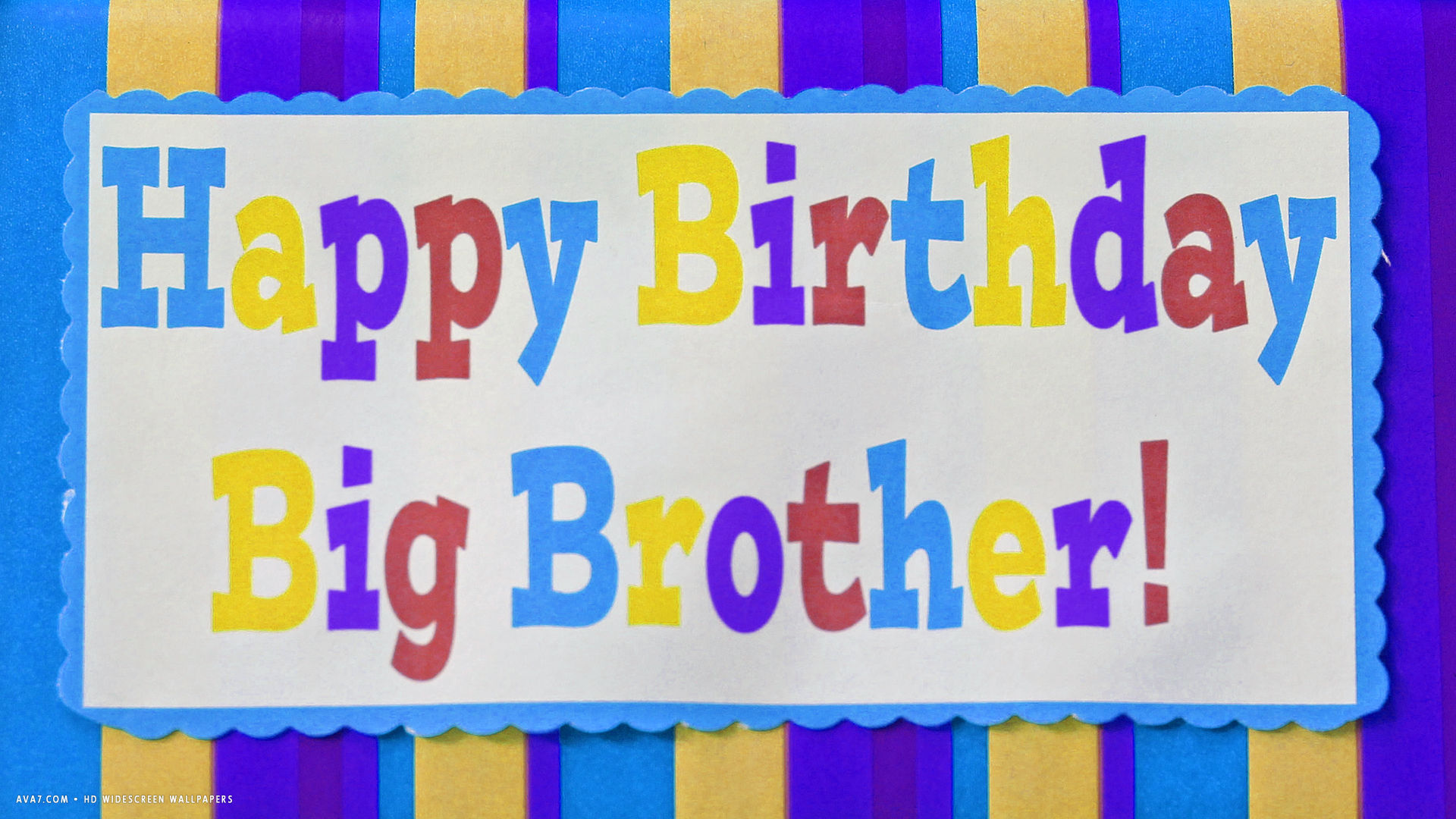 Simple Wallpaper Name Happy Birthday - happy-birthday-big-brother-card-colored-stripes-text  Snapshot_676867.jpg