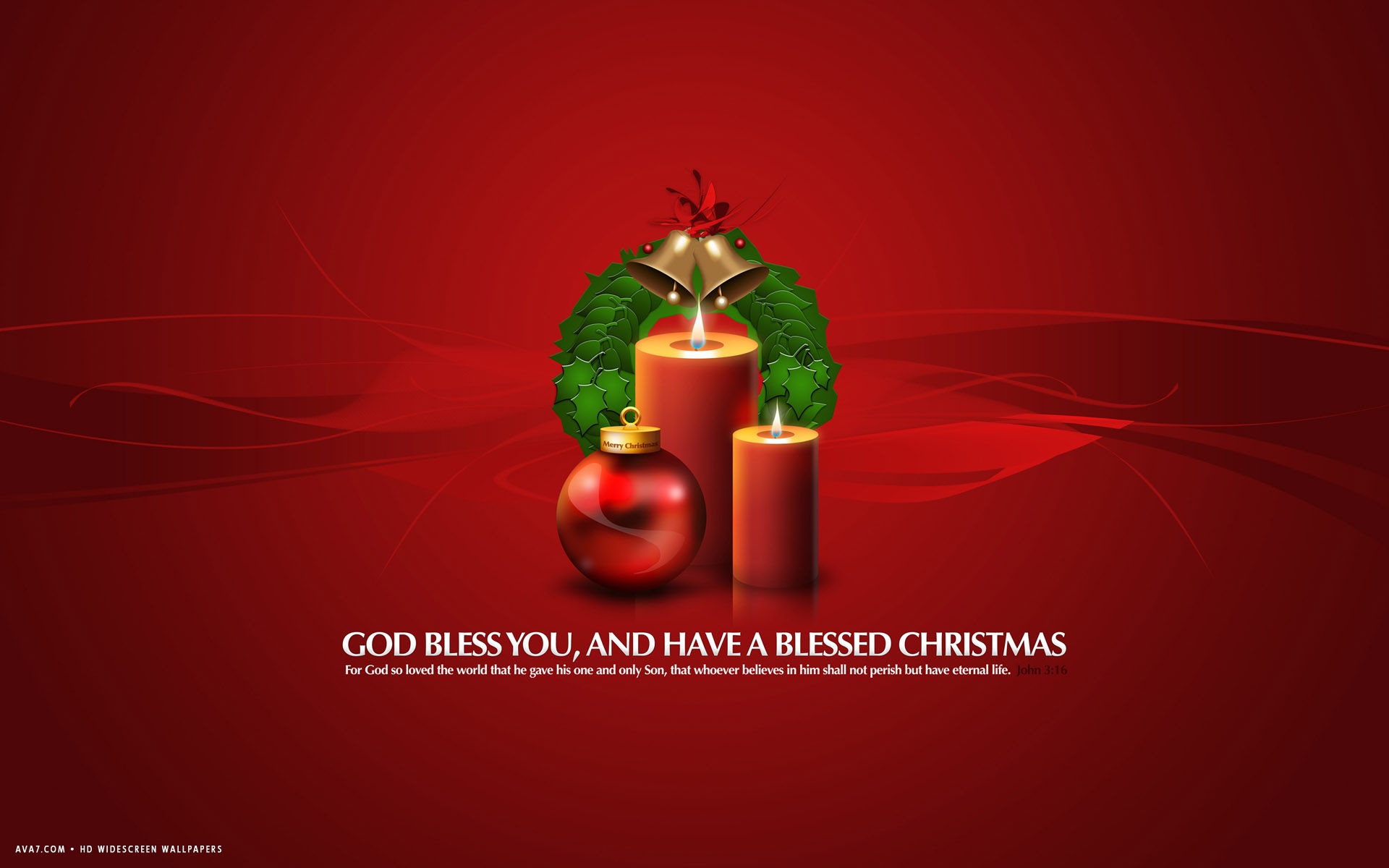 god bless you blessed christmas red candles god bible psalm john 3 ...