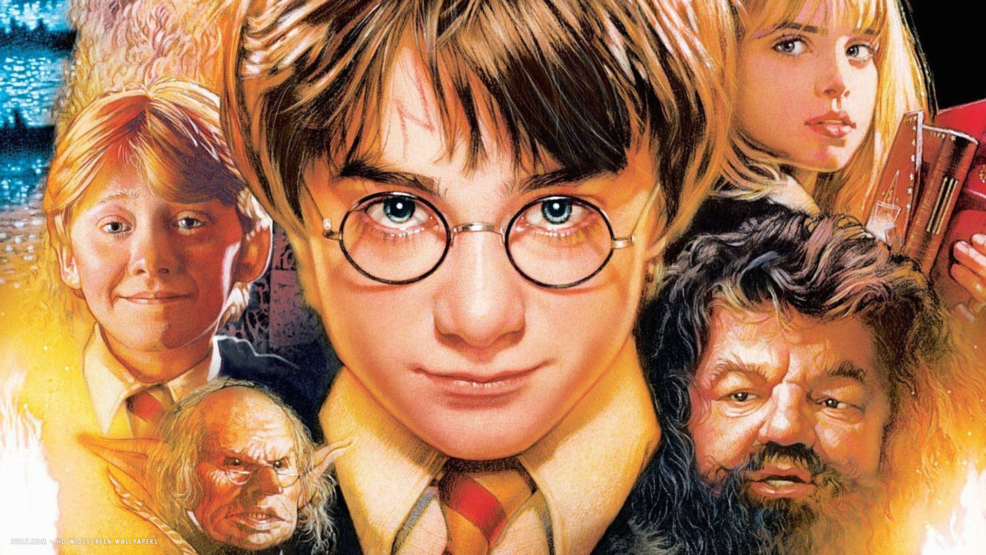 Harry Potter And The Sorcerers Stone Movie Hd Widescreen
