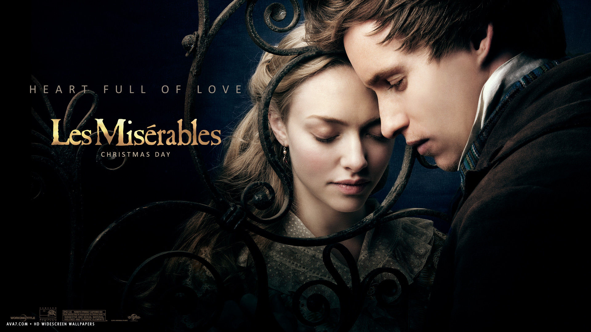 Les Miserables Movie Hd Widescreen Wallpaper Movies Backgrounds