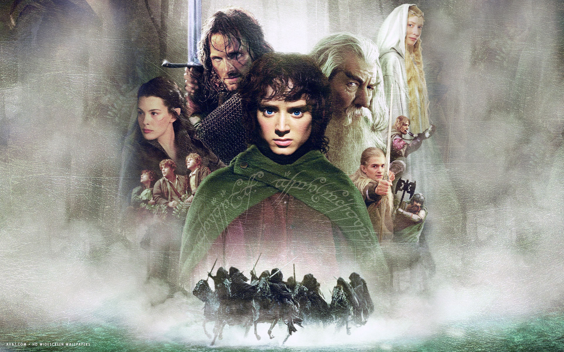 lord of the rings the fellowship of the ring movie hd ...