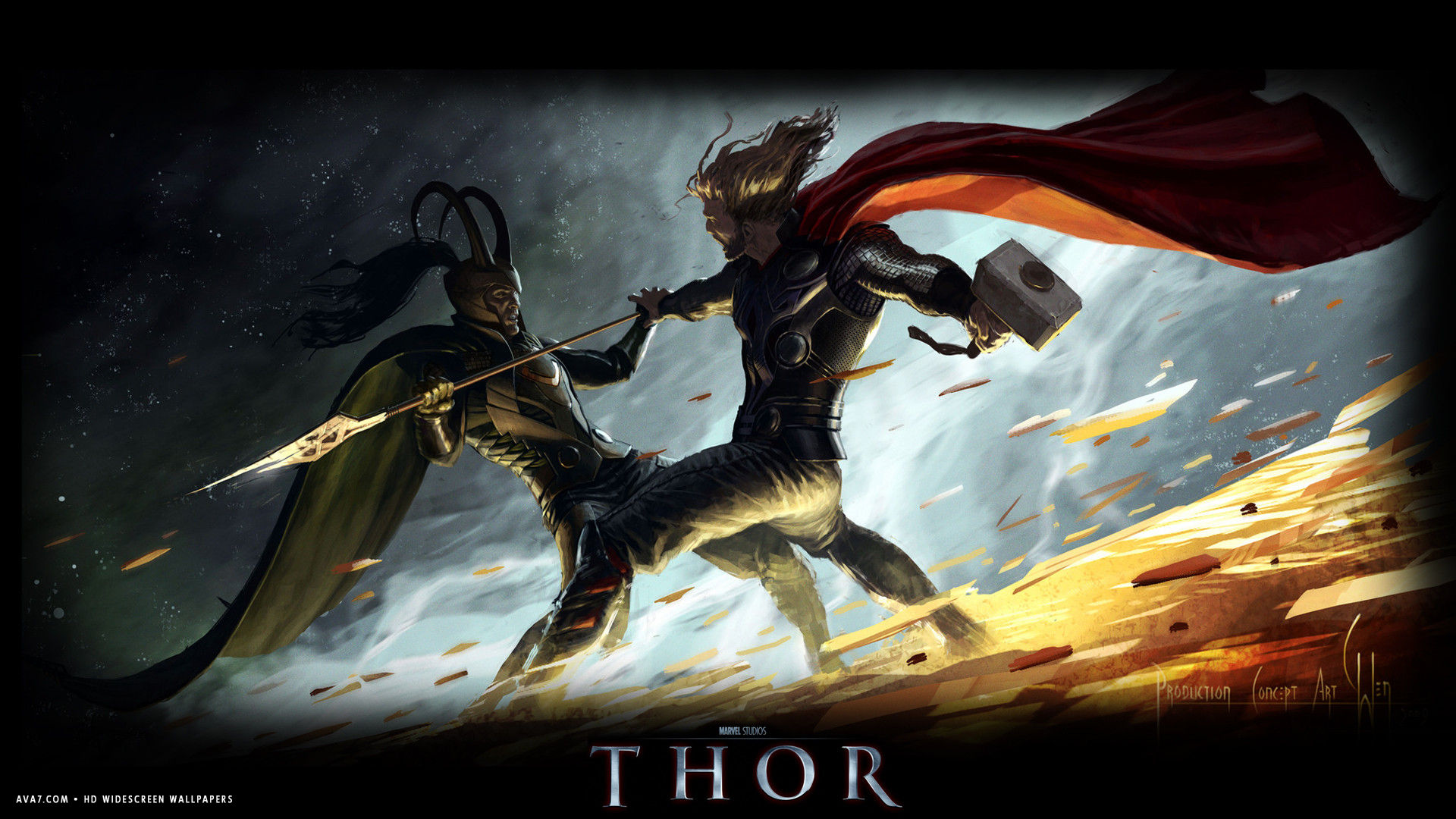 Thor Movie Hd Widescreen Wallpaper Movies Backgrounds