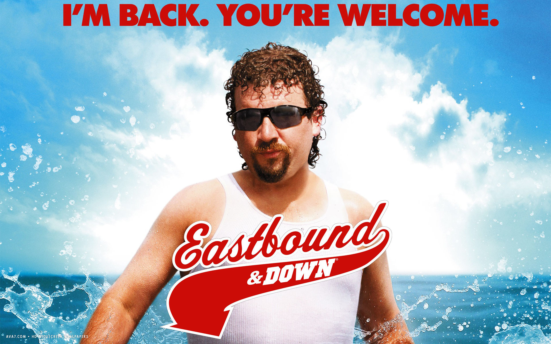eastbound and down tv series show hd widescreen wallpaper