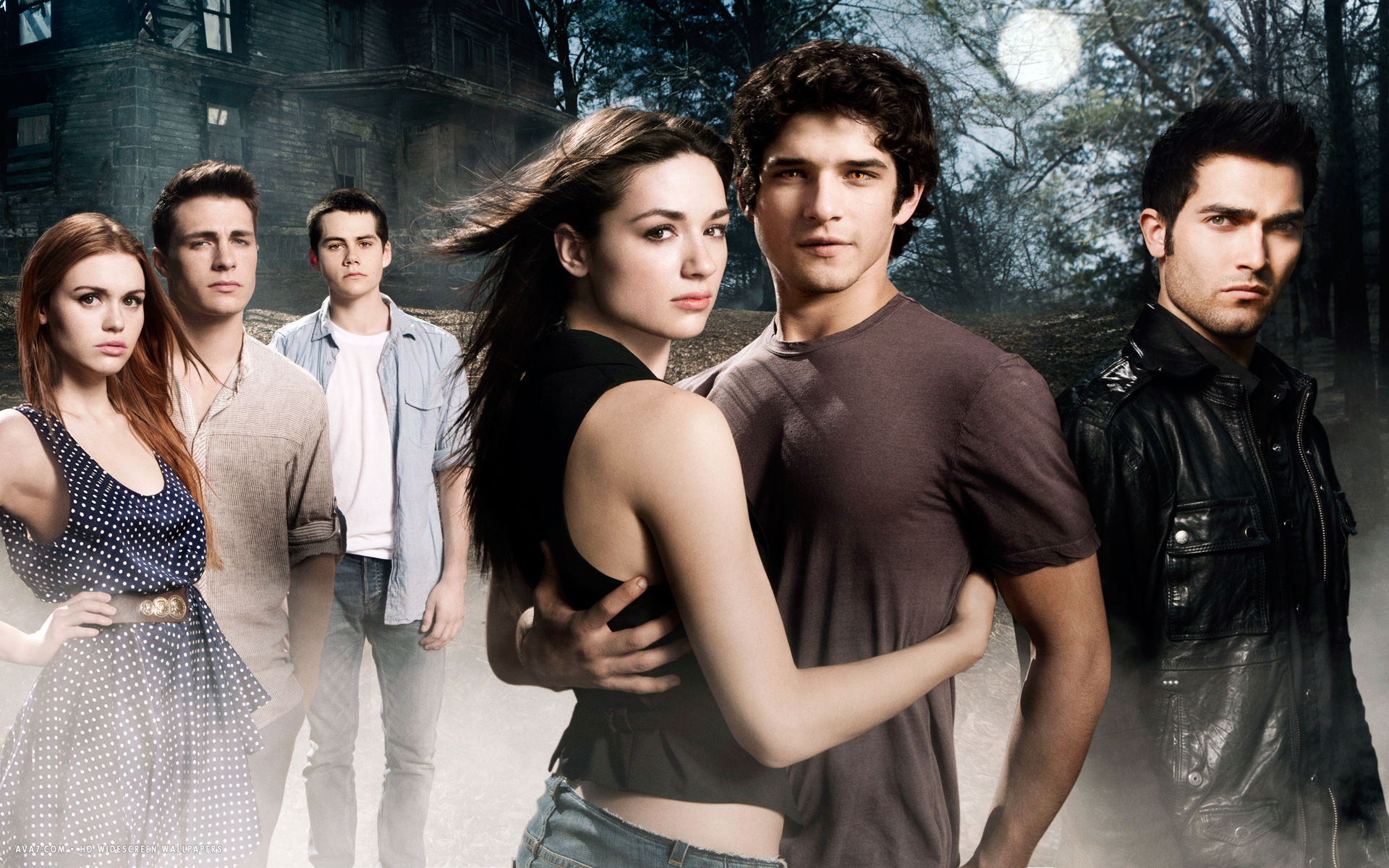 teen wolf tv series show hd widescreen wallpaper