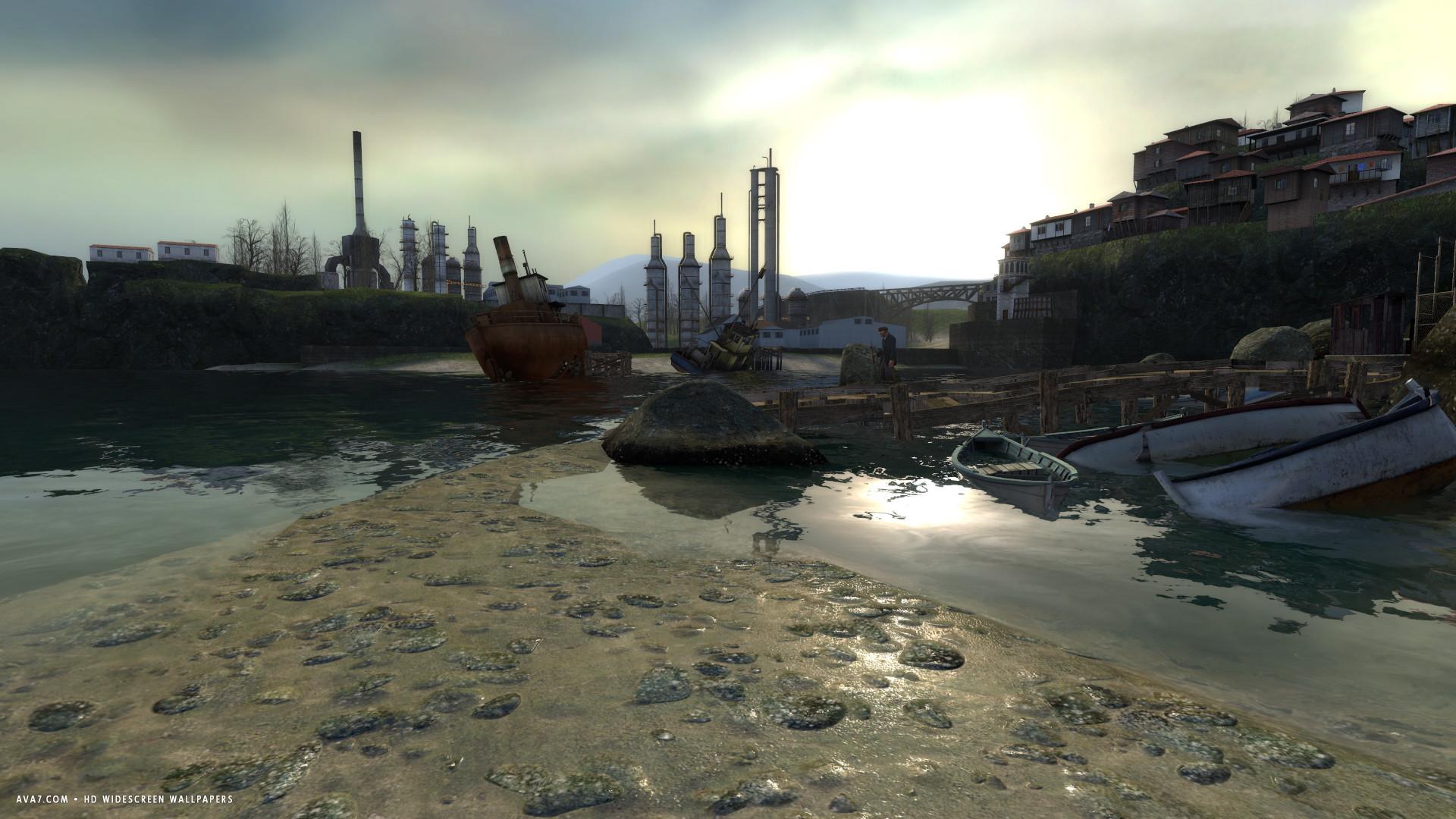 Half Life 2 Lost Coast Game Hl2 Hd Widescreen Wallpaper Games